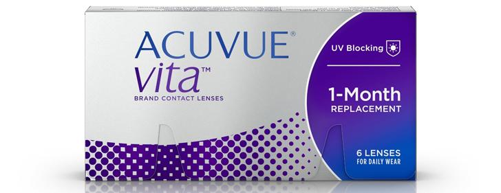 ACUVUE® VITA™ Brand Contact Lenses with HydraMax™
